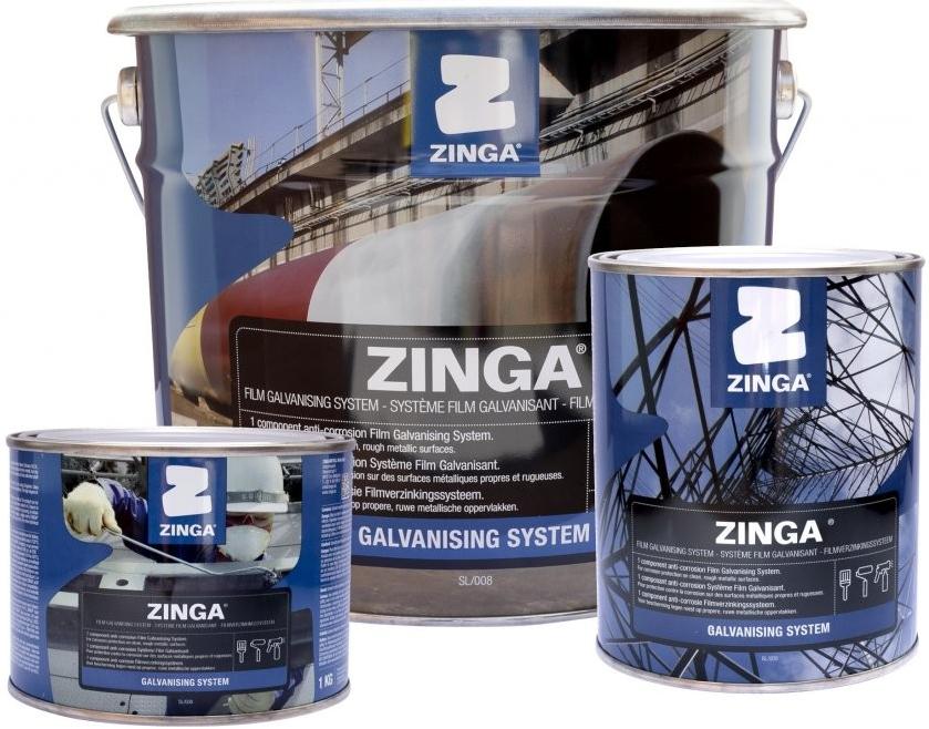 Prodej zinkové barvy ZINGA s obsahem 96% zinku